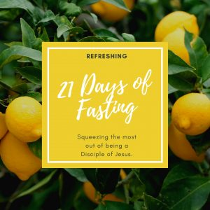 21 Days of Fasting 2020