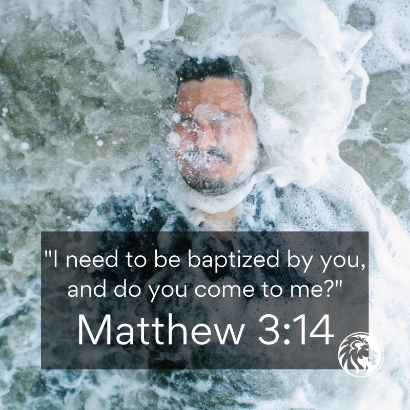 Jesus Baptism in Jordan